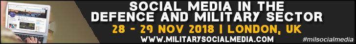 Social Media in Defence and the Military, London, 28-29 November 2018