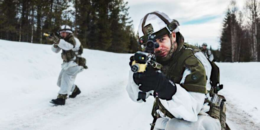 Royal Marines 40 Commando Exercise Northern Wind (Crown Copyright, 2019) [880]