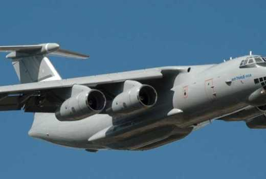 Russian Federation Ilyushin Il-76MD-90A military transport aircraft