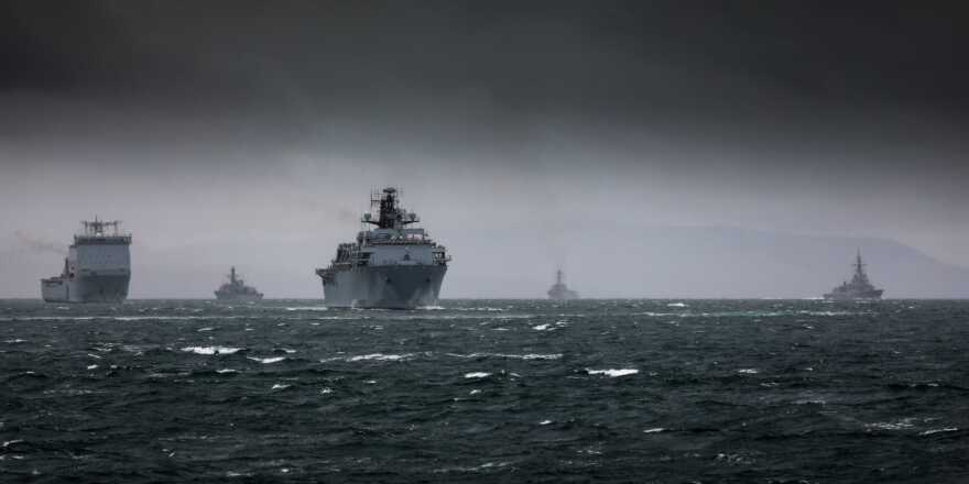 Exercise Baltic Protector Underway