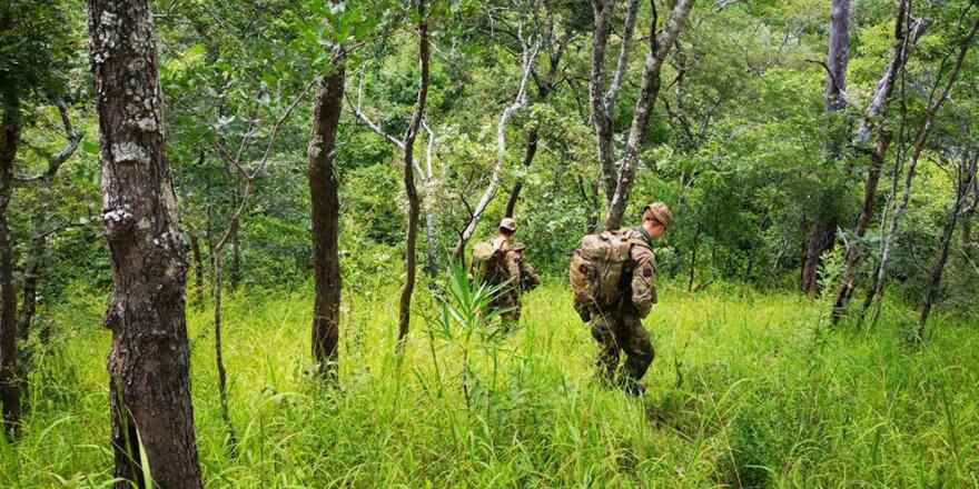 British Army Coldstream Guards counter-poaching Op CORDED Malawi (British Army, 2018)