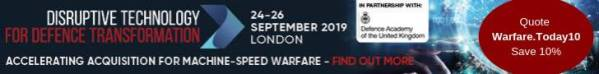 IQPC Disruptive Technology Defence, 24-26 September 2019, London