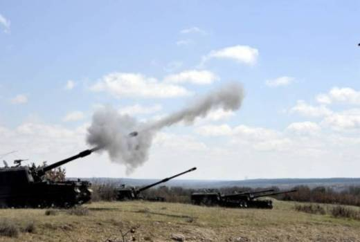 Turkish army artillery fires on US Forces near Kobani, Syria