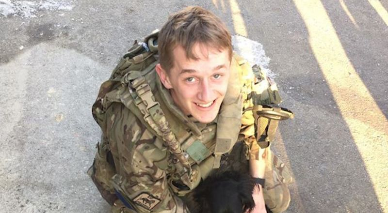 Parachute Regiment, 2 PARA, Private Joseph Berry