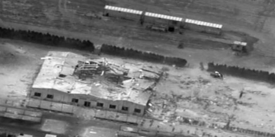 US Air Strike, Iraq, Jurf as Sakhr (March 2020)