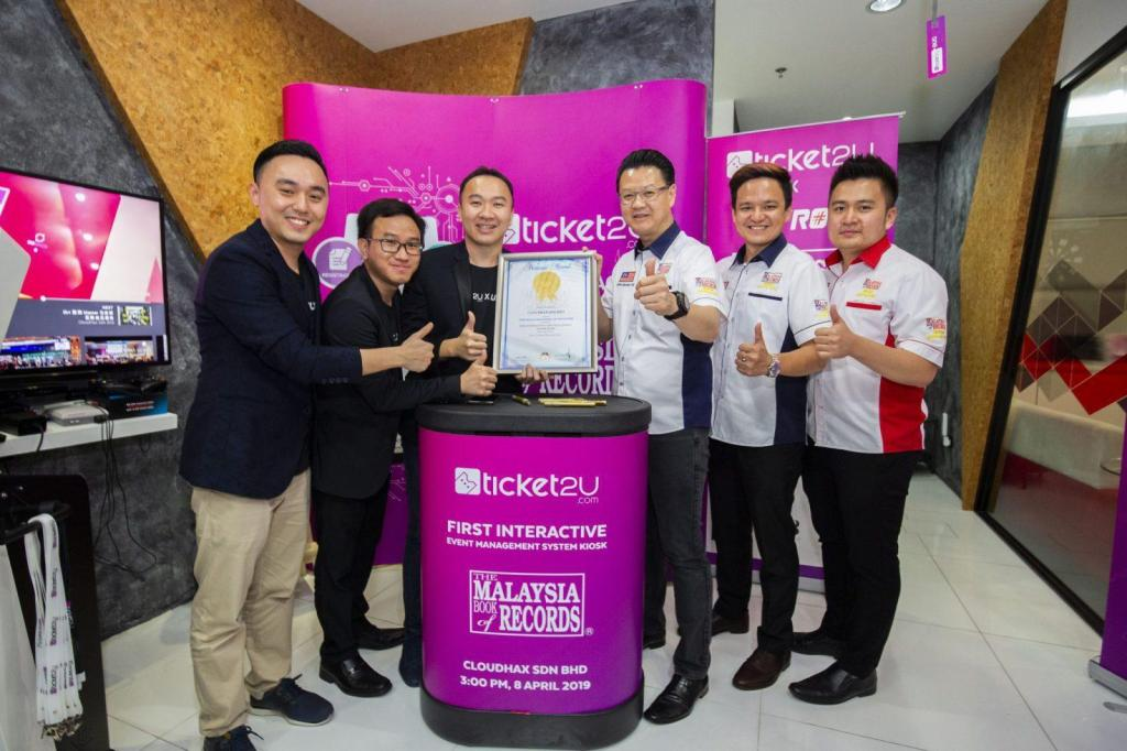 Malaysia First Interactive Event Management Kiosk With Facial Recognition