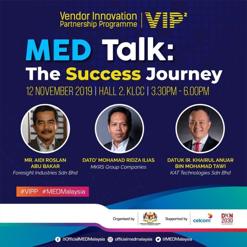 MED Helps Entrepreneurs Get Connected with M'sian Top CEOs Through VIPP