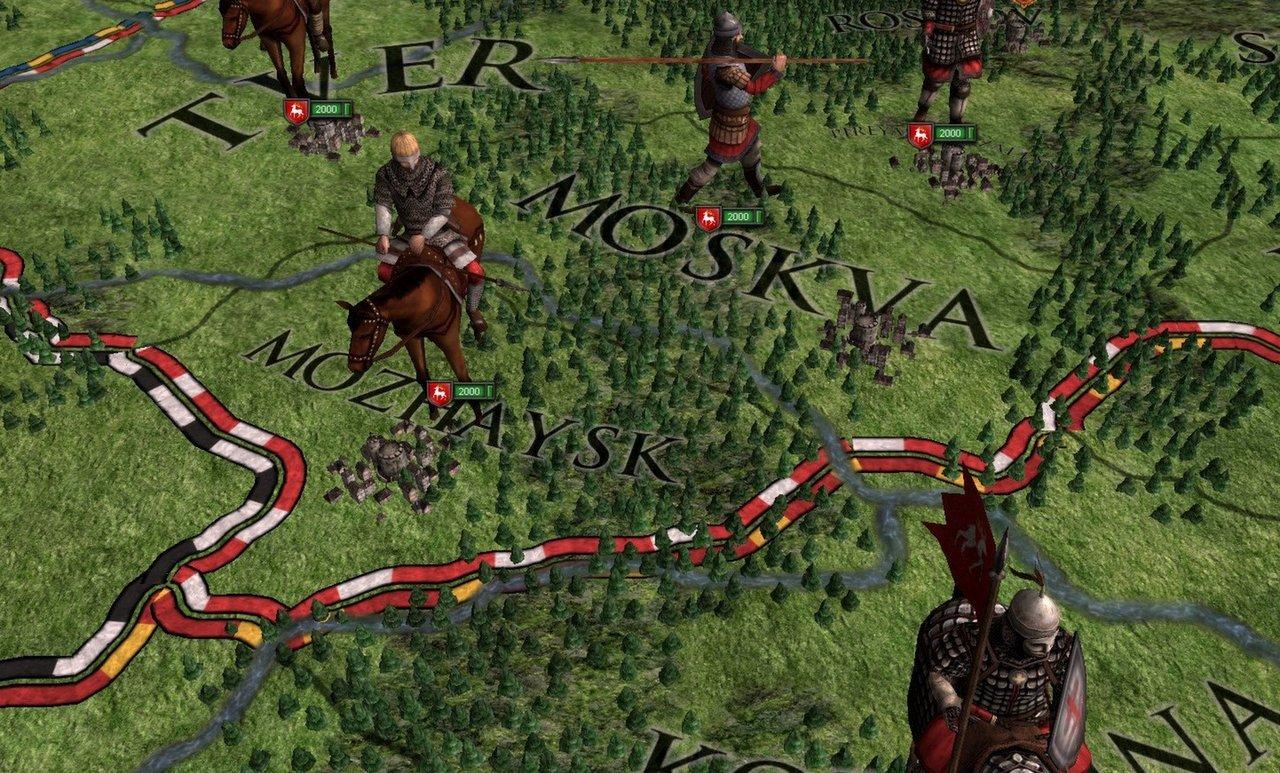 Crusader Kings 2 - DLC Russian Unit pack