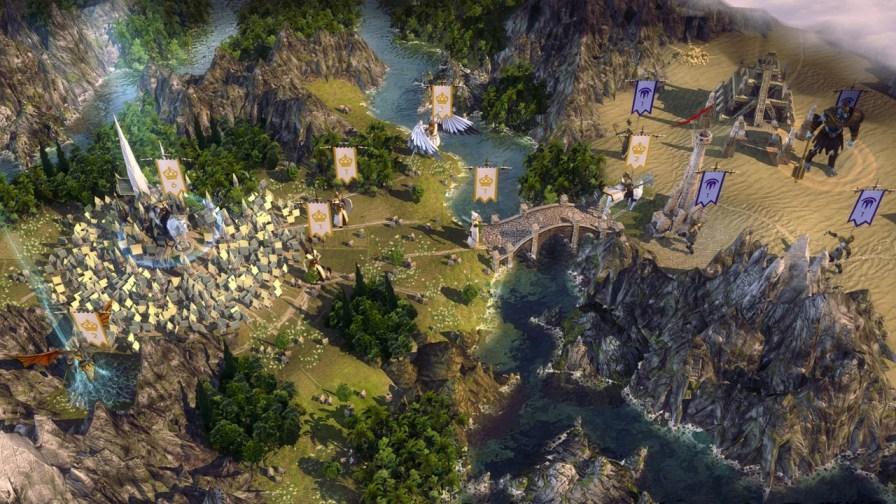 World map - elf city