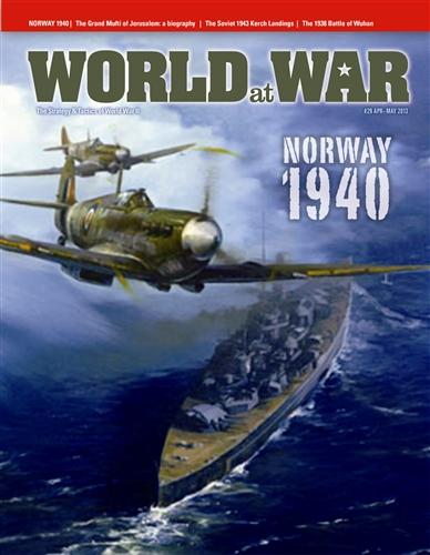 Au programme du nouveau numéro de World at War : l'opération Thursday, en Birmanie en mars 44, et The Battle of the Admin Box, une simulation des combats entre japonais des divisions indiennes. (cliquez sur la couverture pour accéder au site du magazine).