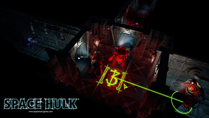 Space Hulk - vue tactique