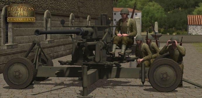CMFI Gustav line - bofors