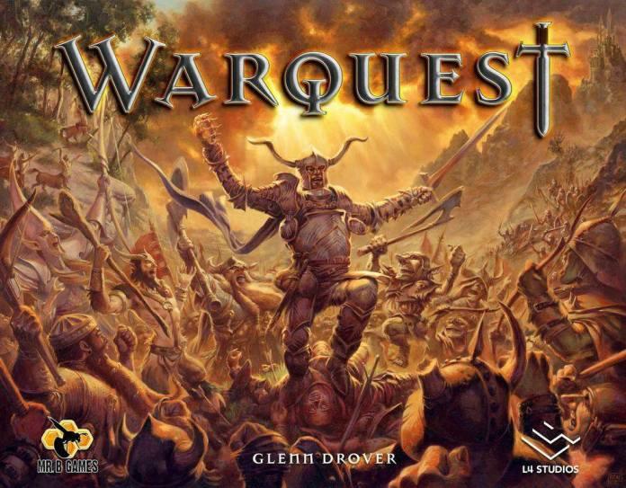 Warquest boardgame