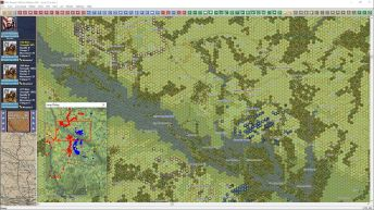 Here is the maximum zoom out in Peninsula showing part of the Chickahominy River;