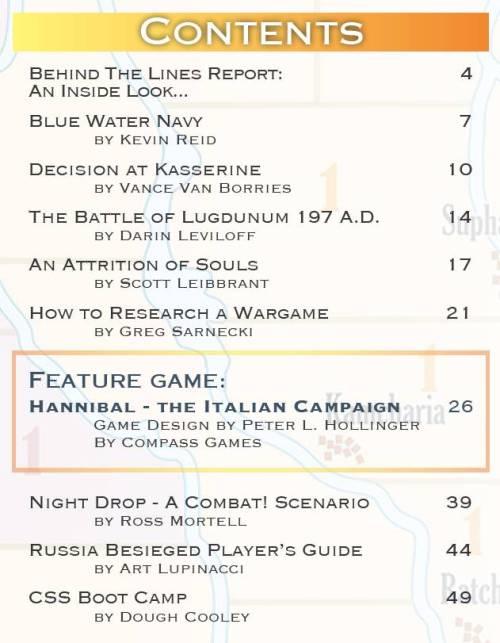Paper Wars 95 Contents