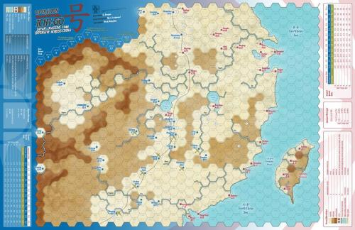 Against The Odds 51 - Operation Ichi-Go - map