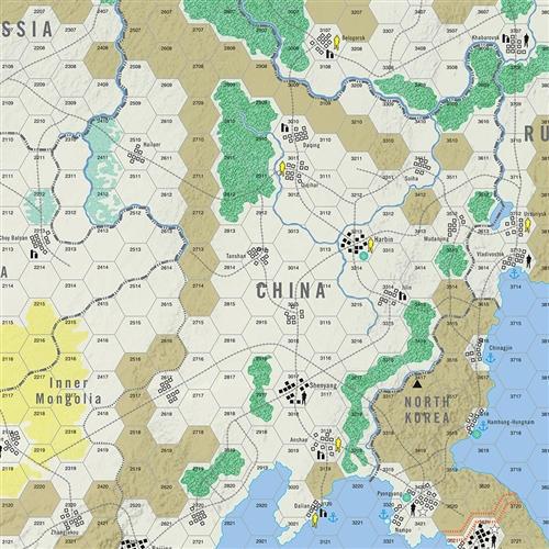 Modern War 50 - map