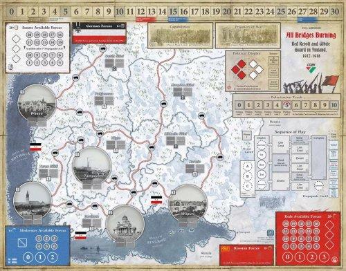 All Bridges Burning - GMT - map