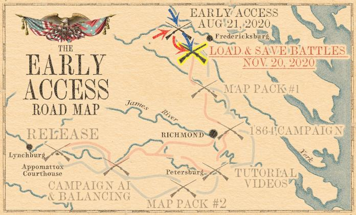 Grand Tactician: The Civil War (1861-1865) - updated roadmap