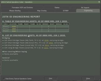Ops Report - Engineering