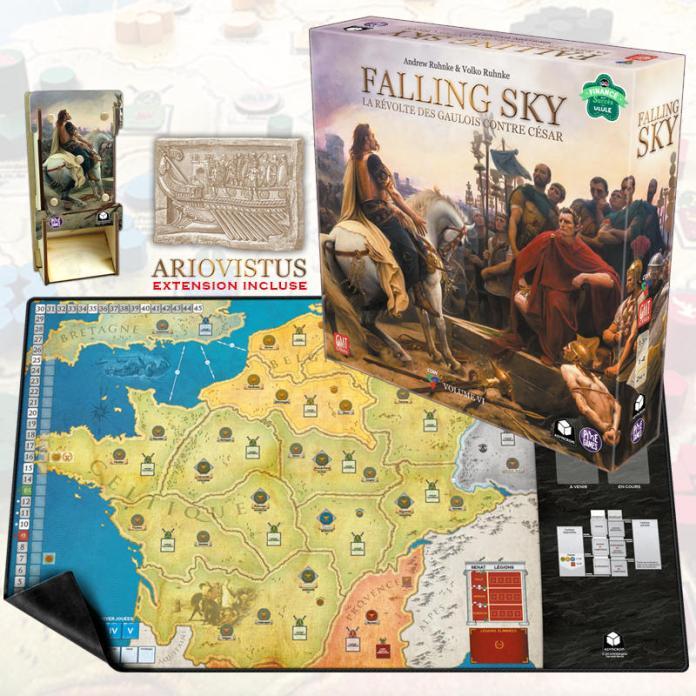 Falling Sky - Ariovistus - COIN games - Asyncron