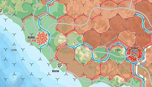 Italia 44 - map