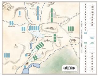 Austerlitz 1805 - Worthington - map
