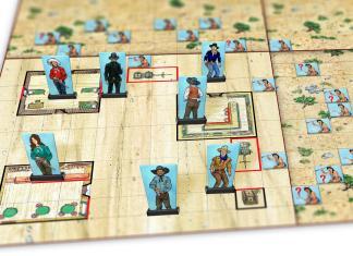 Cowboys II: Cowboys & Indians - map