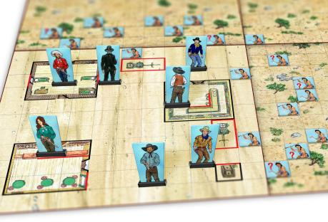 Cowboys II: Cowboys & Indians - map
