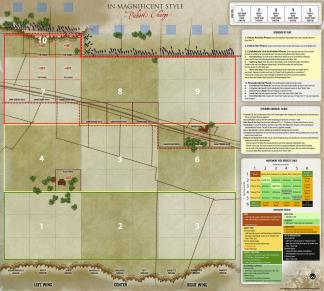 In Magnificent Style: Pickett's Charge - map