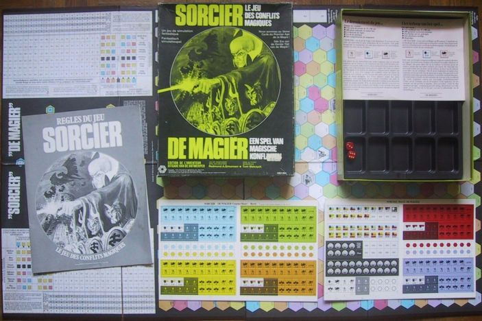 Sorcerer: The Game of Magical Conflict