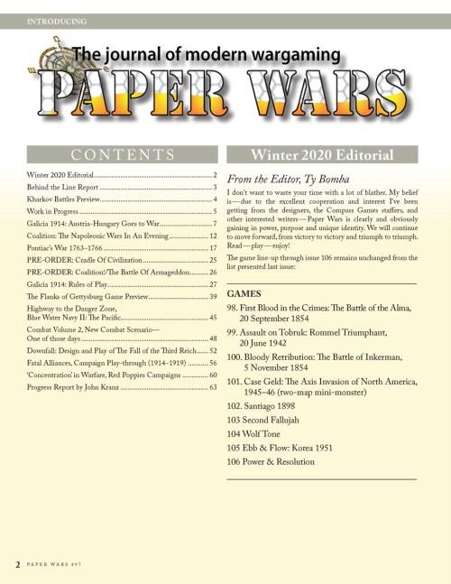 Paper Wars 97