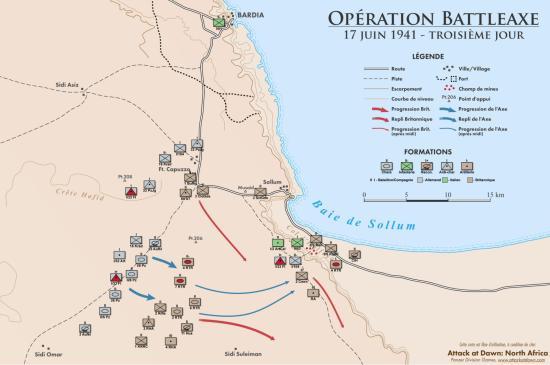 Attack at Dawn: North Africa - Opération Battleaxe