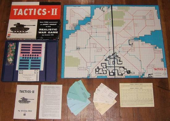 Tactics II - Avalon Hill
