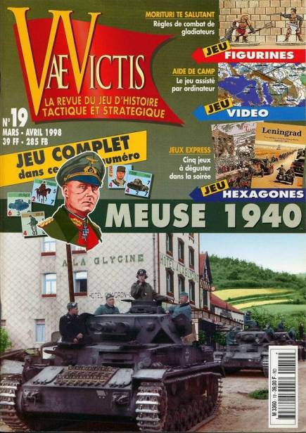 VaeVictis 19 - Meuse 1940