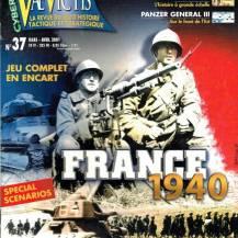 Vae Victis 37 - France 1940 - Plan jaune