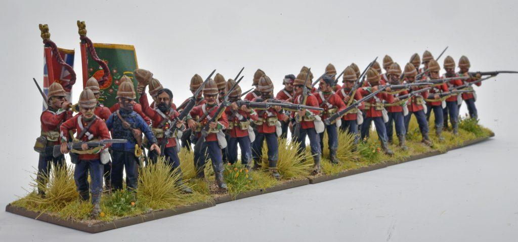 Perry miniatures British Infantry command sprue zulu war