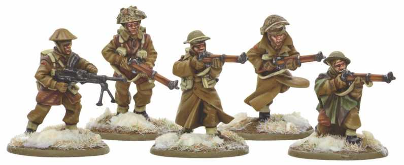 Bolt Action British Infantry Section (Winter) 1