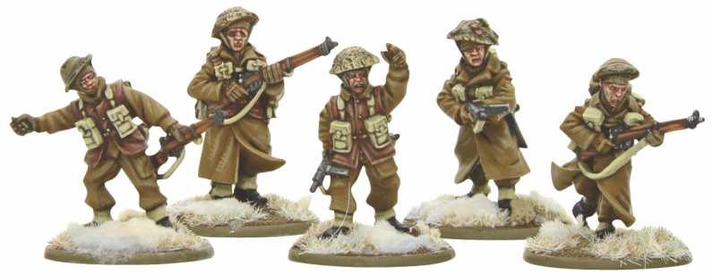 Bolt Action British Infantry Section (Winter) 2