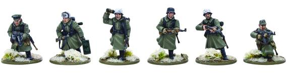 Bolt Action German Infantry (Winter) 1