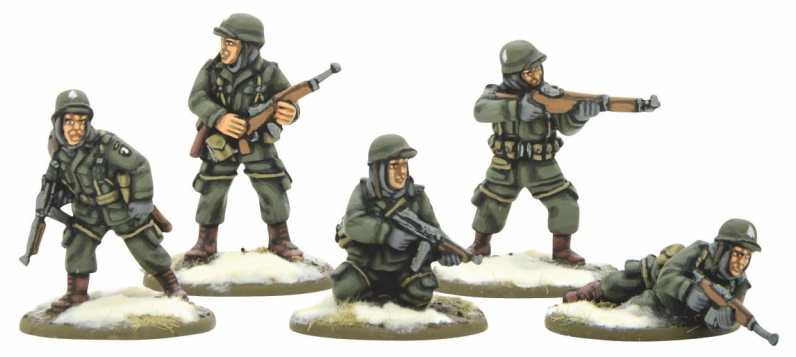 Bolt Action US Airborne Squad (Winter) 1