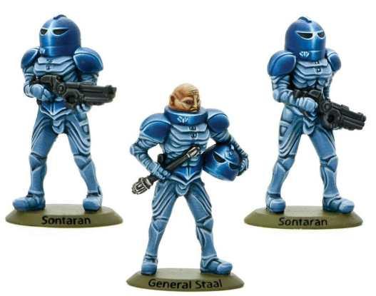 Sontaran General Staal 0