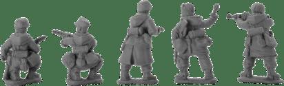 28mm German Volksgrenadiers 1