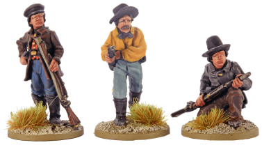 28mm Dismounted Confederate Cavalry 2