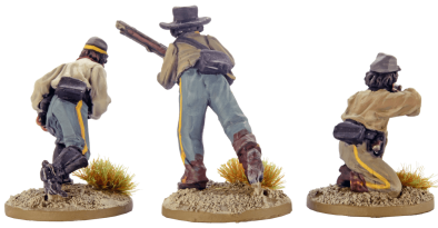 28mm Dismounted Confederate Cavalry 5