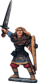 Frostgrave Female Soldiers Metal 7