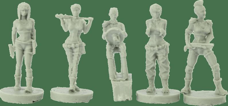 Green Miniatures - Post Apocalyptic 12