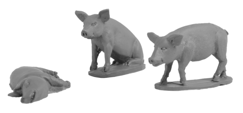 Daydream Miniatures - 28mm Animals0