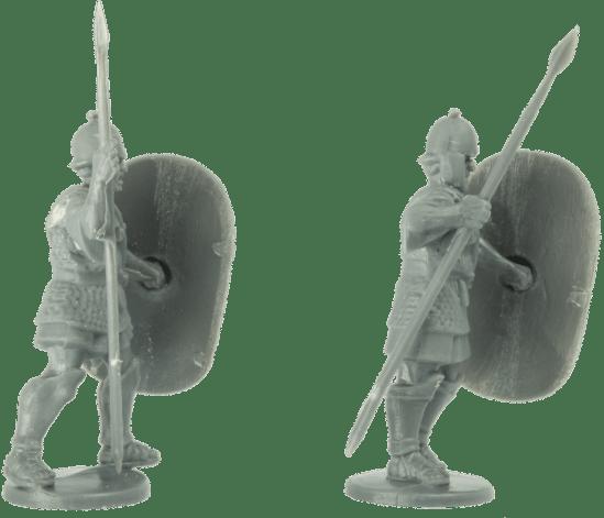 Agema Miniatures - Hannibal's African Veterans 1