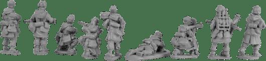 Offensive Miniatures - WW2 Winter Germans 1